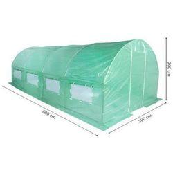 Tunel foliowy HOME&GARDEN 300 x 600 cm (18 m2) Zielony + DARMOWY TRANSPORT!