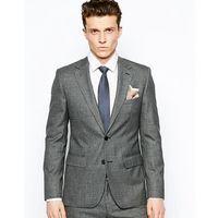 Reiss Suit Jacket In Regular Tailored Fit - Grey