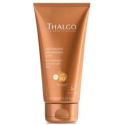 Thalgo AGE DEFENCE SUN LOTION SPF30 Przeciwzmarszczkowe mleczko do opalania SPF 30 (VT4385)
