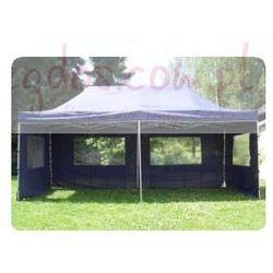 Pawilon ogrodowy 3x6, namiot automatyczny, handlowy+ściank - niebieski