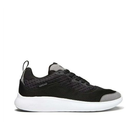 buty SUPRA - Factor Tactic Black/Grey-White (045) rozmiar: 45