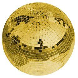 Eurolite kula lustrzana 30 cm, złota