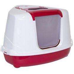 Yarro/Moderna Toaleta narożna z filtrem bordowa [Y3401]