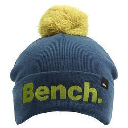 czapka zimowa BENCH - Laureatte Dark Turquoise Blue (BL139)