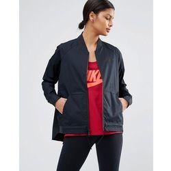 Nike Logo Bomber Jacket - Black