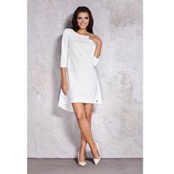 Sukienka z dłuższym tyłem IN024