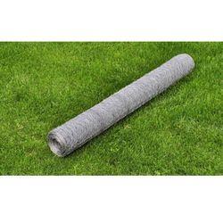 vidaXL Ogrodzenie, siatka ogrodowa, 0,75 mm (50 cm x 25 m). Darmowa wysyłka i zwroty
