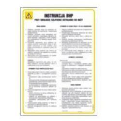 Instrukcja BHP ręcznego przewożenia towarów