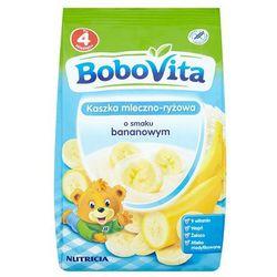 BOBOVITA 230g Kaszka mleczno ryżowa z bananami po 4 miesiącu życia