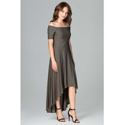 cd5c111b suknie sukienki czarna marszczona sukienka maxi w kwiaty z odkrytymi ...