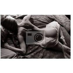 Fototapeta leżąc nago