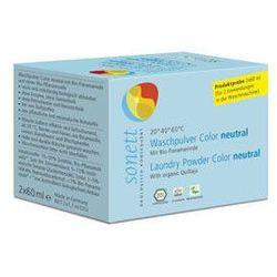 Sonett Neutral proszek do prania tkanin kolorowych bezzapachowy 2 x 60 ml