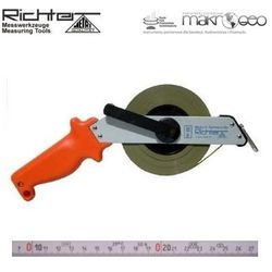 Taśma ruletka Richter stalowa chromoniklowana 474 SR/30m