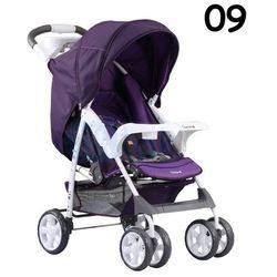 Adamex, Quatro Imola, wózek spacerowy, fioletowy Darmowa dostawa do sklepów SMYK