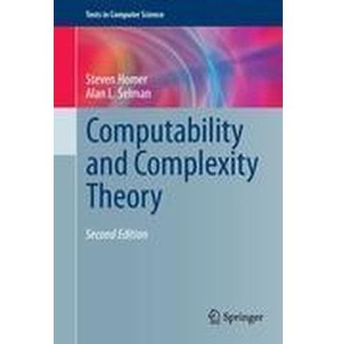 Computability and Complexity Theory Homer, Steven