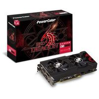 PowerColor Radeon RX 570 Red Dragon - 4GB GDDR5 RAM - Karta graficzna