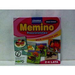 Moje pierwsze gry - Memino. Przeciwieństwa GRANNA