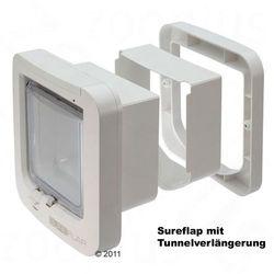 Przedłużenie tunelu do drzwiczek SureFlap - Przedłużenie tunelu białe