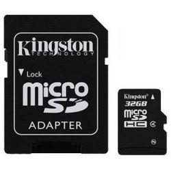 Karta pamięci Kingston microSDHC 32GB class4 + adapter SD