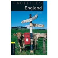 England The Oxford Bookworms Library Factfiles Stage 1 (400 Headwords) (opr. miękka)