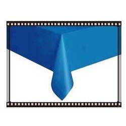 Niebieski obrus