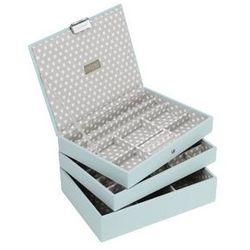 Pudełko na biżuterię potrójne classic Stackers
