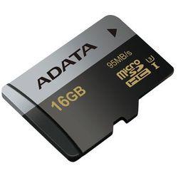 Adata microSD Premier Pro 16GB UHS-1/U3/CL10 + adapter