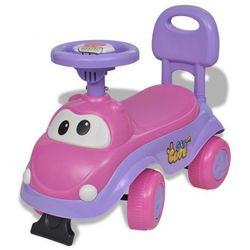 Samochód dla dzieci Jeździk Różowo-Fioletowy Zapisz się do naszego Newslettera i odbierz voucher 20 PLN na zakupy w VidaXL!