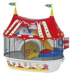 Ferplast Circus Fun klatka dla chomika z wyposażeniem