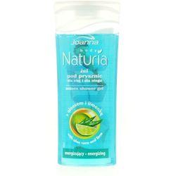 Joanna Naturia Energizujący żel pod prysznic z aloesem i limonką 100 ml