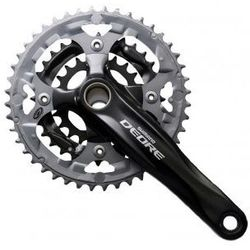Mechanizm korbowy Shimano Deore 175mm FC-M590 44/32/22T