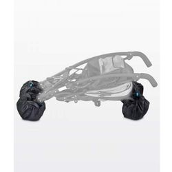 Pokrowce na koła wózka - 4 szt