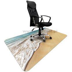 Podkładka ochronna ze wzorem MORZE 012 - pod krzesło - 120x180cm - grubość. 1,3mm