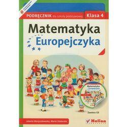Matematyka Europejczyka 4 Podręcznik Z Płytą Cd (opr. miękka)