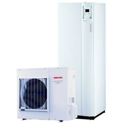 Pompa ciepła powietrze - woda Extensa+ DUO 5 z zasobniekiem wody-do ogrzania powierzchni ok. 50-70m2