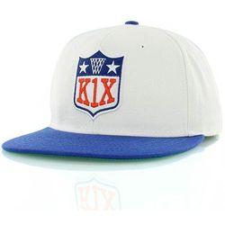 czapka z daszkiem K1X - Ballers Play Harder White (1100)
