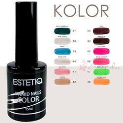 Lakiery Hybrydowe ESTETIQ - Color 15 ml