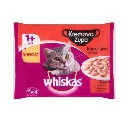 Whiskas kremowa zupa tradycyjne smaki karma pełnoporcjowa 340 g