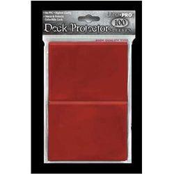 Koszulki (protektory) ultra pro czerwone 100s