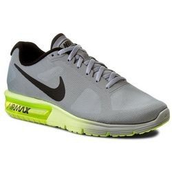 Buty NIKE - Air Max Sequent 719912 013 Wolf Grey/Black/Volt