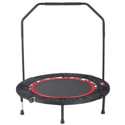 Mini fitness trampolina do ćwiczeń z uchwytem poręczą