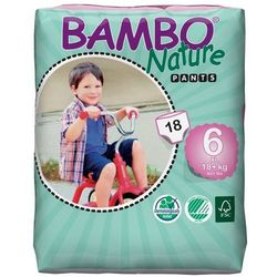 Pieluchomajtki Bambo Nature XL (18 kg, 18szt.)