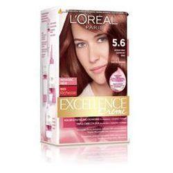 L'OREAL Excellence Creme - farba do włosów 5.6 Intensywny Czerwony Brąz