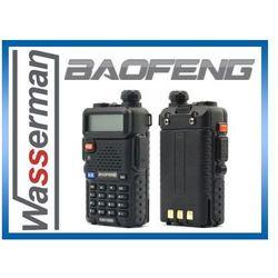 Duobander BAOFENG UV-5R 2m/70cm VHF & UHF rozblokowany 5W