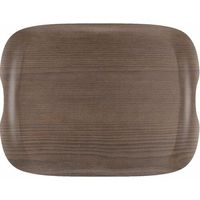 Taca Wave warm wood | 430x330mm