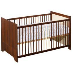 Łóżeczko dla niemowlaka 140x70 - Terra (orzech)