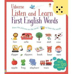 Listen and Learn First English Words (opr. twarda)