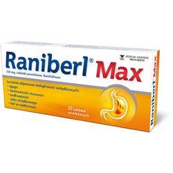 RANIBERL MAX x 10 tabletek