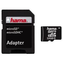 Karta HAMA microSDHC/32GB Class 10 + Adapter SD