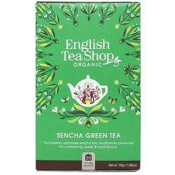Herbata zielona Sencha 20x2g BIO 30 g English Tea Shop
